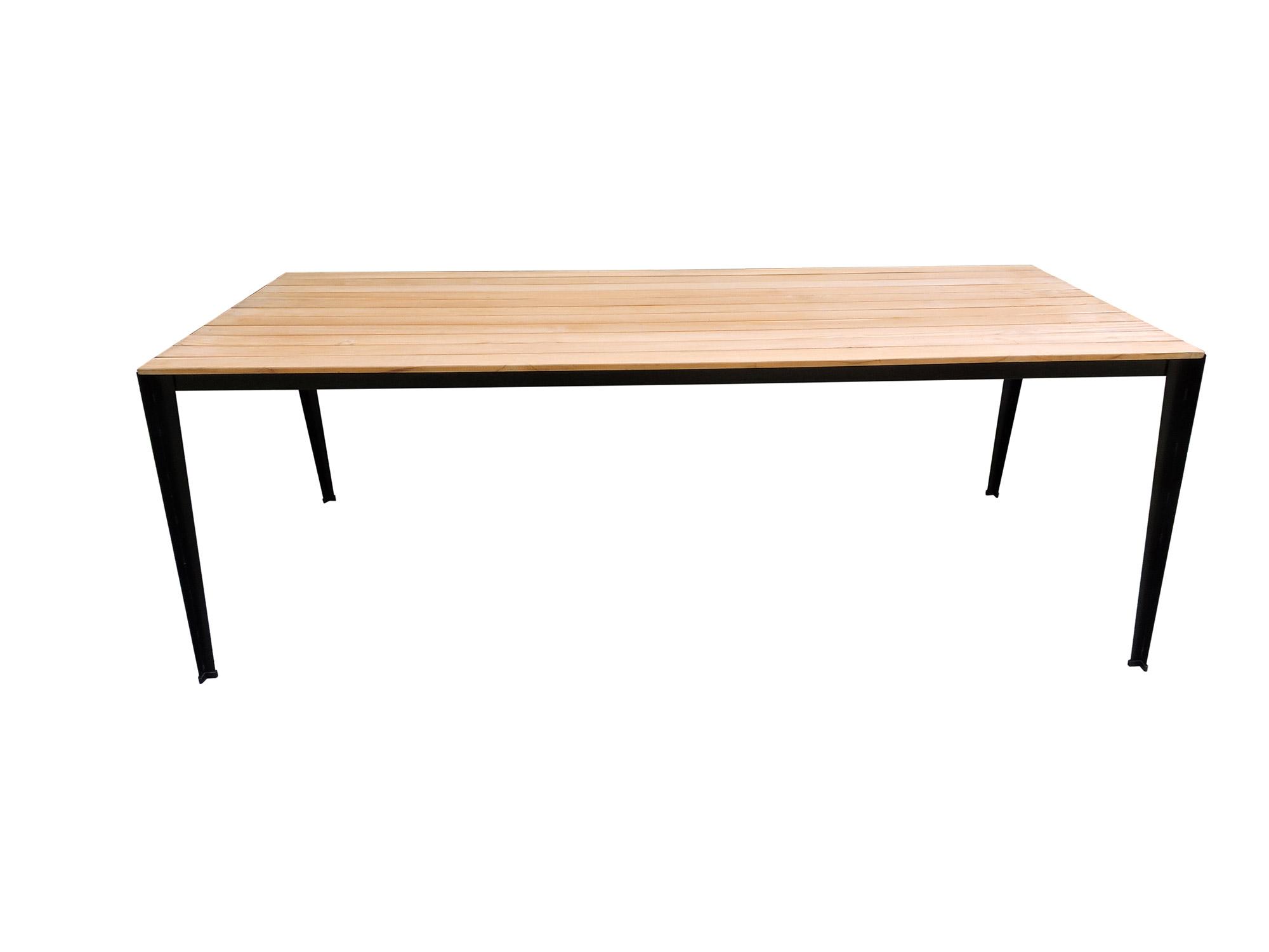 Solid Teaktisch 160x90 cm